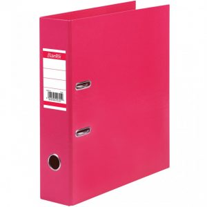 BANTEX A4 Paper Casemade Lever Arch File 70mm Pink
