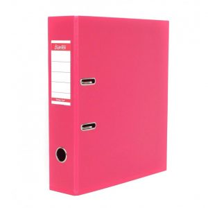 Bantex A4 Polyprop Lever Arch File 70mm Pink