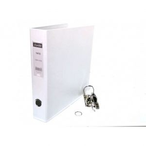 Bantex A4 Polyprop Lever Arch File 40mm White