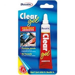 BOSTIK Clear Gel Adhesive 25ml
