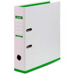 Bantex Two Tone 70mm Lever Arch File Poly-Prop Green