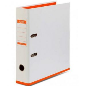Bantex Two Tone 70mm Lever Arch File Poly-Prop Orange