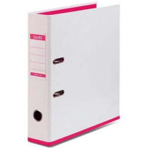Bantex Two Tone 70mm Lever Arch File Poly-Prop Pink