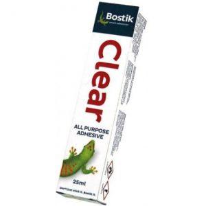 BOSTIK Clear Adhesive 25ml
