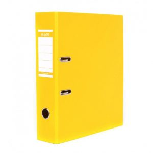 Bantex A4 Polyprop Lever Arch File 70mm Yellow