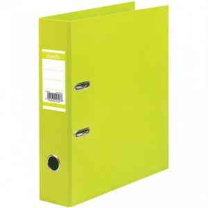 BANTEX A4 Paper Casemade Lever Arch File 70mm Lime Green