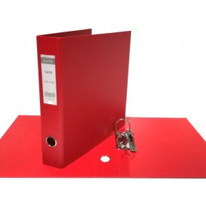 Bantex A4 Polyprop Lever Arch File 40mm Red