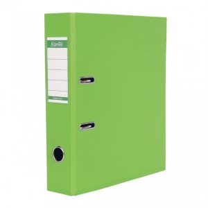 Bantex A4 Polyprop Lever Arch File 70mm Lime Green