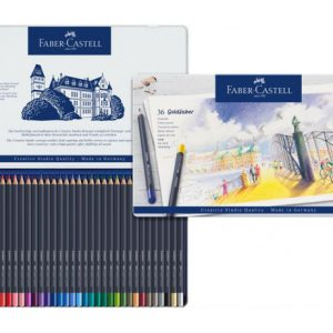 Faber Castell Goldfaber Colour Pencil – Tin Of 36