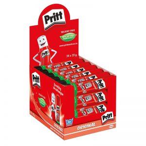 Pritt Glue Stick 22g Dispenser Box (24 X 22g)