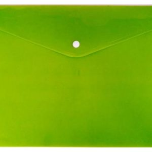 Treeline A4 PVC Carry Folder – Lime Green