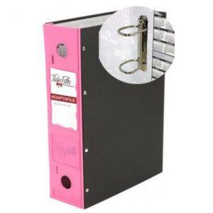 Tidy Files ADAPTAFILE Metal Ring Clip Pink
