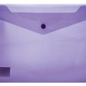 Treeline A4 PVC Carry Folder – Purple