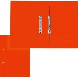 Treeline Accessible Files Gloss Orange Foolscap – Pack of 4