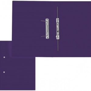 Treeline Accessible Files Gloss Purple Foolscap – Pack of 4