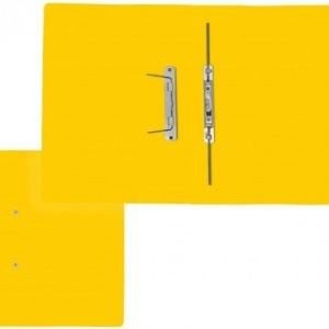 Treeline Accessible Files Gloss Yellow Foolscap – Pack of 4