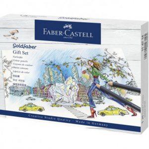 Faber Castell Goldfaber Colour Pencil – Gift Set – 23 Pieces