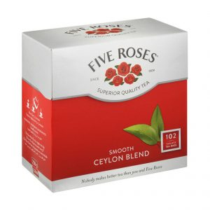 Five Roses Tagless Teabags (Pack102's)