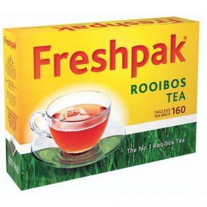 Freshpak Rooibos Teabags Tagless (Pack 160's)