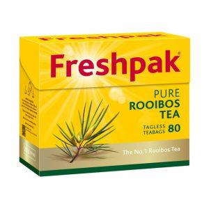 Freshpak Rooibos Teabags Tagless (Pack 80's)