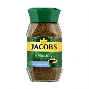 Jacobs Kronung Decaff Instant Coffee 200g