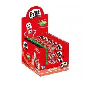 Pritt Glue Stick 11g Dispenser Box (24 X 11g)