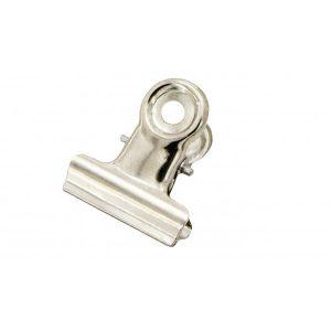 SDS Bulldog Clips Silver 22mm – Box 12