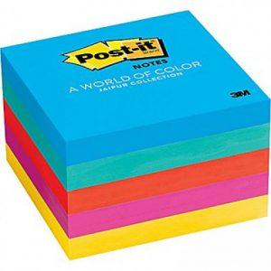 Post-It Notes Jaipur Colours 73 X 73mm