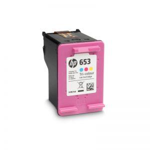 HP 653 Tri Colour Original Ink Cartridge – 3YM74AE