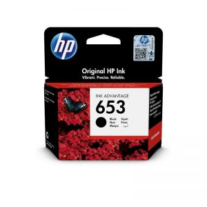 HP 653 Black Original Ink Cartridge – 3YM75AE