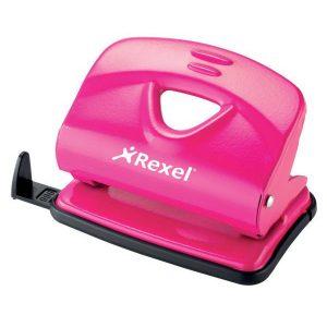 Rexel V220 Value Punch – Pink (20 Sheet)
