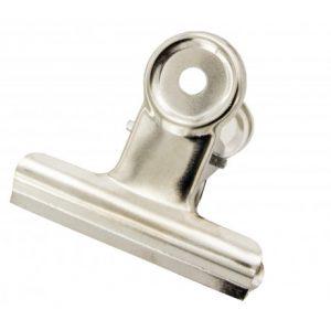 Bulldog Clips Silver 50mm – Box 12