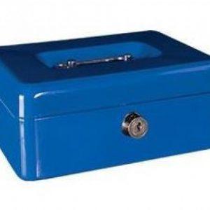 Cash Box Metal 6″ – Blue