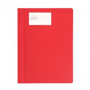 Bantex A4 PVC Deluxe Quotation Folder Red