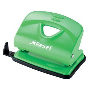 Rexel V220 Value Punch – Green (20 Sheet)