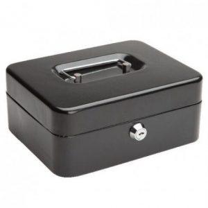 Cash Box Metal 8″ – Black