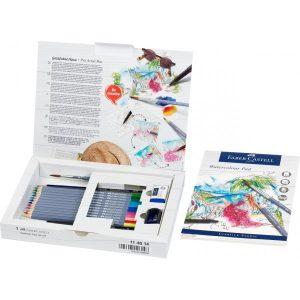 Faber Castell Goldfaber Aqua Watercolour Pencil – Gift Set – 18 Pieces