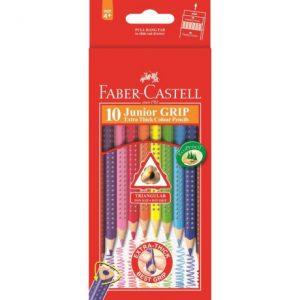 Faber Castell Junior Grip Colours – 10s