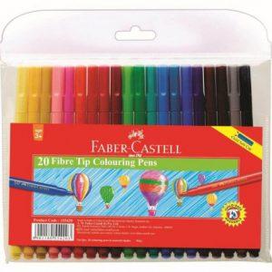 Faber Castell Fibre Pen Fine Point 54F – Wallet 20
