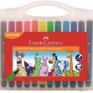 Faber Castell Jumbo Fibre Tip Colouring Pens