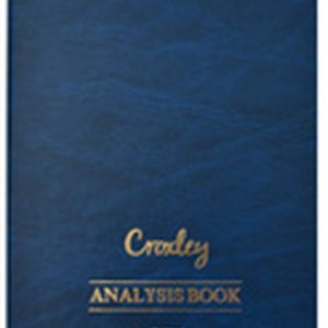 Croxley Analysis Book A4 JD6010 – 10 Cash Columns On Two Pages