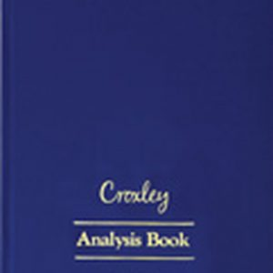 Croxley Analysis Book A4 JD6014 – 14 Cash Columns On Two Pages