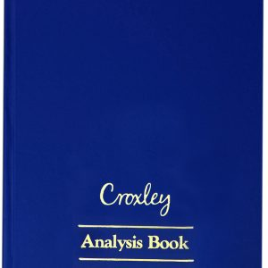 Croxley Analysis Book A4 JD6016 – 16 Cash Columns On Two Pages