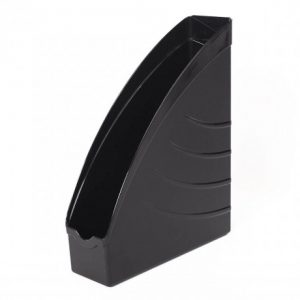 Bantex Optima Magazine Filing Box – Black