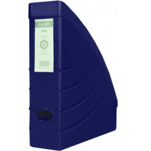 Bantex Optima Magazine Filing Box – Blue