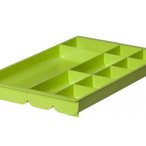 Bantex Desk Organiser 10 Compartment – Fashion Lime Green