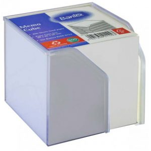 Bantex Memo Cube With Paper – White Sheets