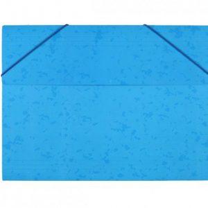 Bantex  Document Wallet 3-Flap Heavy Duty Board – Cobalt Blue
