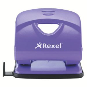 Rexel V230 Value 2-Hole Metal Punch – Purple (30 Sheet)