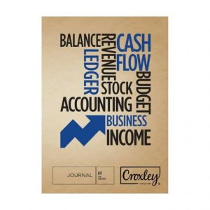 Croxley A4 Bookkeeping Practice Book JD165CJ Journal (72 Page)